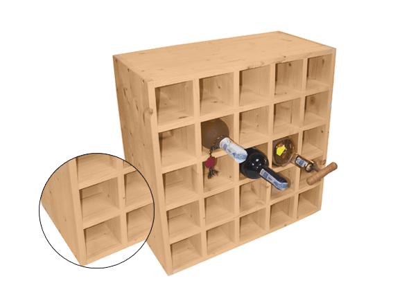 Wine Racks Boxes, Wine Bottle Storage Dimensions